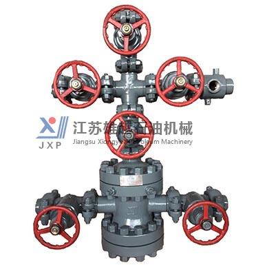 KY65-21 6-valve oil production wellhead device